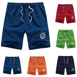 board beach shorts Canada - Men Plus Size Beach Shorts Big Size Board Shorts Men Swimming Shorts Surfing&beach Short Quick Drying Sport Pants Running Pants C19040801