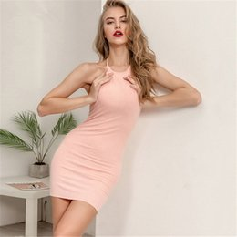 40b00cce3fe Women Sexy Club Backless Straps Summer Dress 2019 Ladies Cotton Elastic  Bodycon Party Off Shoulder Lace Up Mini Dresses Vestidos NB-1038