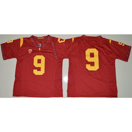 8916d37bb4c Usc Shorts UK - Mens USC Trojans JuJu Smith-Schuster Stitched Name Number  American College Football