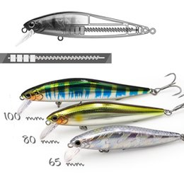 artificial baits for fishing Australia - EWE Branded Silver Knife trout lure 65 80 100mm 7 10 14g jerkbait slow sinking minnow artificial bait for trout bass fishing T191020