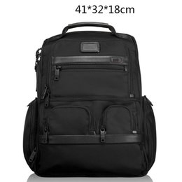 Wholesale Tumi classic Men Ballistic Nylon Business Backpack Outdoor Casual Travel Crossbody Business Laptop Bag D2 DHL
