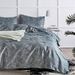 luxurious beds Australia - 3 Sets Of Bedding Home Textiles, Luxurious Hypoallergenic Quilts, Zip Closure, Corner Tie. 1 Duvet Cover + 2 Pillowcases