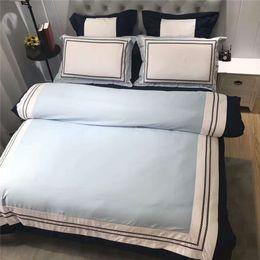 Luxury Egyptian Cotton Australia - CHAUSUB 60S Satin Egyptian Cotton Bedding Set 4PCS European Luxury Duvet Cover Sheets Pillowcase King Queen Size Bed Linens