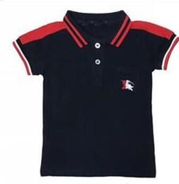 $enCountryForm.capitalKeyWord Australia - Boys Girls polo shirts Designer label Kids Tops boys shirt Kids T-shirt Lapel Wear Summer Style Baby boy sportswear Tees