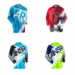 Motorcycle Racing Clothes Australia - ANSR Outdoor Cycling Wear Keep Warm Cross Country Motorcycle Clothes Hygroscopic Racing Suit Windbreak Men And Women Autumn 45xcH1