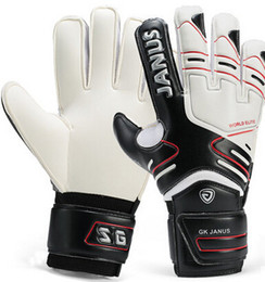$enCountryForm.capitalKeyWord Australia - Wholesale-Brand Professional Goalkeeper Gloves Finger Protection Thickened Latex Soccer Football Goalie Gloves Goal keeper Gloves