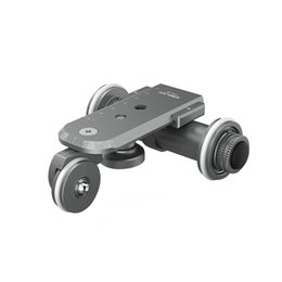 Discount electric camera car - Kingjoy Ppl-06 Mini Motorized Electric Track Slider Dolly Car 3-Wheel Video Pulley Rolling Skater For Dslr Camera Camcor