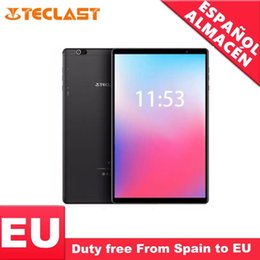2gb ram gps tablet Canada - Teclast P10HD 4G Phone call Octa Core tablet pc 3GB RAM 32G ROM IPS1920*1200 SIM Android 9.0 OS 10.1 Inch Tablet GPS 6000mah