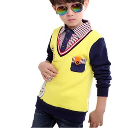 $enCountryForm.capitalKeyWord Australia - Spring Autumn Brand Boys Shirts Blusas Casual Baby Tops Tee Kids Clothes Boy Blouse Shirt 1pc Cotton Children Clothing 2-13Y