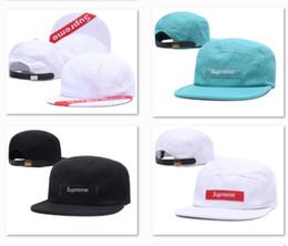 be247a3afba New Box Logo Design Ball Caps Sports Hip Hop Flat Snapback Hats Discount  Baseball Hats High Quality Fitted gorras Cap Snapbacks Cool DF2P01