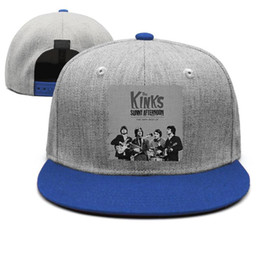 Sunny Hats Australia - The newest unisex hat The Kinks sunny afternoon cool single custom fashion personality hatSummer fast break classic unique cap