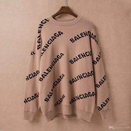 Wholesale mens long coat styles resale online - NEW Mens designers sweater fashion hip hop style High collar lapel women woollen sweater luxury Cotton Casual Coat