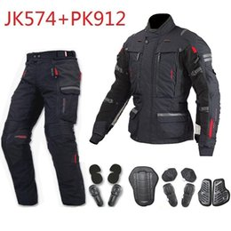 $enCountryForm.capitalKeyWord Australia - Free shipping 1set Motorbike Waterproof Cordura Motorcycle Armours Bike Style CE Approved Jacket Motorcycle Jacket and Pant