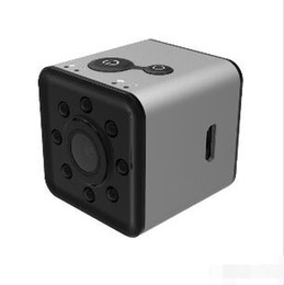 Video Camera Full Hd Lens NZ - NEW SQ13 Digital Camera 4K Wifi Waterproof Camera 1080P HD Video Recorder Infrared Night Detection Mini Camera 155 Degree Rotation wholesale