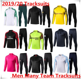 men football tracksuit Australia - 2019 2020 Training suit Tracksuit Soccer jersey Club Man city PSG Palmeiras Dortmund AC 2020 Survetement football kits Many Team Tracksuits