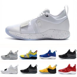 85a19ad5f2c6e 2019 Champion PG 2.5 University Red Opti Yellow Men Basketball Shoes Racer  blue White Black Wolf Grey Mens Paul George sports sneakers