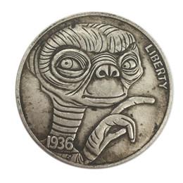 1936 Coins Australia - Hobo 1936 E.T. creative home furniture decoration coin handicraft factory wholesale