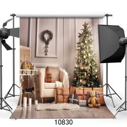 Digital Christmas Backdrops Australia - Vinyl Custom Photography Backdrops Prop digital printed Vertical Christmas day theme Photo Studio Background JLT-10830