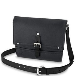 $enCountryForm.capitalKeyWord NZ - 2019 M54963 CANYON MESSENGER PM MEN BLACK Real Caviar Lambskin Le Boy Chain Flap Bag HANDBAGS SHOULDER MESSENGER BAGS TOTES