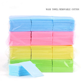 $enCountryForm.capitalKeyWord Australia - 600pcs Bag Nail Polish Remover Cotton Pad Nail Wipe Napkins Manicure Pedicure Gel Tools Lint-Free Wipes Hard Napkins