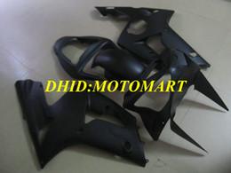 Kawasaki Ninja 636 Black Australia - Injection mold Fairing kit for KAWASAKI NINJA ZX 6R 600CC 03 04 ZX6R 636 2003 2004 All matte black Fairings set ZX47