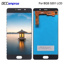 bq touch screen replacement UK - For BQ BQ-5201 BQ5201 BQ 5201 BQS 5201 LCD Display Touch Screen Digitizer Replacement Phone Parts With Free Tools