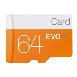 8gb micro sd tf memory card Canada - Memory Card SDHC EVO TF Flash Card Class 10 Micro SD Card 32GB 8GB 64GB 16GB 128GB for Smart Phone Tablet