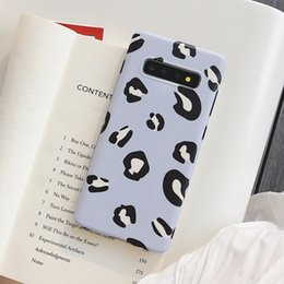 $enCountryForm.capitalKeyWord NZ - Fashion Leopard Print IMD Phone Case For Samsung S10 S10+ S8 S9 NOTE 8 NOTE 9 Soft TPU Case