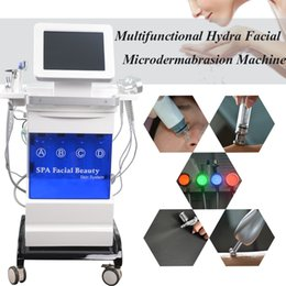 $enCountryForm.capitalKeyWord Australia - Spa equipment hydro facial acne treatment machine crystal microdermabrasion fine lines removal microcurrent face lift led pdt skin care