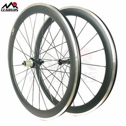 Wheels front carbon clincher online shopping - LEADXUS C mm Road Bike Carbon Alloy Wheels K UD Carbon Clincher Tubular Bicycle Wheelset Alloy Braking Wheel