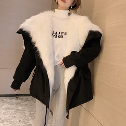 $enCountryForm.capitalKeyWord NZ - New Fur Coat Faux Fur Coat Faux Fox Wool Lamb Liner Large Collar Hooded Parkas Thicken Warmer Parkas Manteau Femme Abrigo