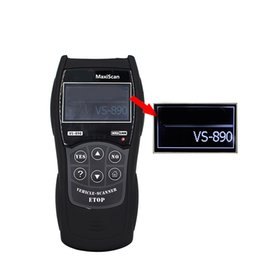 Mitsubishi Obdii Tools NZ - VS-890 OBDII Code Reader Vehicles Cars Diagnostic Machine Tool Auto Scanner Universal Car Scan Tester