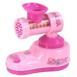 Pink Toy Kitchen Set Australia - Vibration Children's Mini Kitchen Toy Set Simulating Small Home Appliances Over Home Toys Mini Meat Grinder