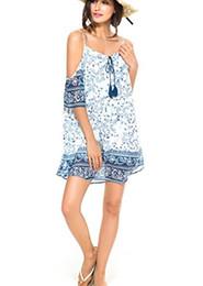 $enCountryForm.capitalKeyWord NZ - PERSUN Women Cold Shoulder Lace Trumpet Sleeve Spaghetti Strap Dress Tops, White