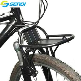 Ride Bikes Australia - Bicycle Front Cargo Rack Mountain Bike Road Bike Aluminum Alloy Black Colour Luggage Racks Riding Equipment Accessories FZT002 #107096