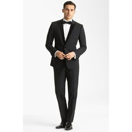 Green Suits Tailcoats Australia - Custom Made Groom Tuxedos New Style Grey Bridegroom Jacket Tailcoat Lapel Groomsmen Best Men Suits (Jacket+Pants) Z606