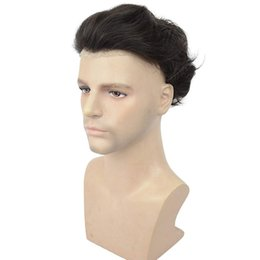Black White Wigs Australia - 100% high quality black Halloween party handmade wig, covering white hair, fashion style, thin and breathable TKWIG