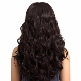$enCountryForm.capitalKeyWord UK - Women Cosplay Long Body Wave Wigs Brazilian Hair Pre Plucked Lace Wigs Human Hair For Women Natural Hairline Lace Wigs With Baby Hair