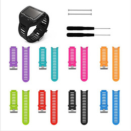 garmin watches for Australia - Soft Silicone Replacement Wrist Watch Band Strap Bracelet Wristband for Garmin Forerunner 910XT 8 Colors With Tools
