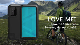 love mei cover Australia - Love Mei Shockproof DustProof Aluminum Metal Case Heavy Protection Case Cover for Samsung Galaxy Note 10