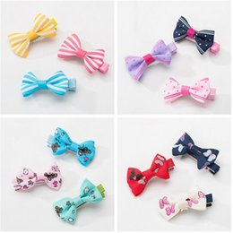 clipper wood NZ - Lovely Multi Style Handmade Designer Dog Hair Bows Clip Cat Puppy Grooming Bows for Pet Hair Accessories LX3442