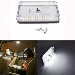 Led ceiLing dome Light online shopping - 36 LED Car Vehicle Interior Dome Roof Ceiling Reading Trunk Light Lamp V Universal