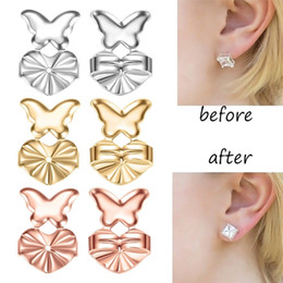 magic lift Canada - Magic Earring Backs Support Earring Lifts Fits all Post Earrings Set  Gold Color Earrings Accessories Dropship