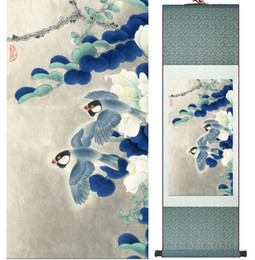 $enCountryForm.capitalKeyWord Australia - Birds And Flowers Painting Chinese Traditional Art Painting Home Decoration Paintings No.32102