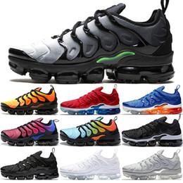 boxing games 2019 - Sneaker TN Plus Running Shoes Men Women Sunset Triple Black White SILVER PATTERNS Game Royal Work Blue Volt Sport Shoe S