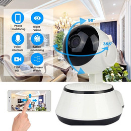 wireless outdoor cctv cameras night vision UK - Holanvision Wifi IP Camera Surveillance 720P HD Night Vision Two Way Audio Wireless Video CCTV Camera Baby Monitor Home AI Security System