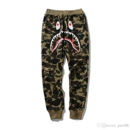 Justin bieber sale online shopping - 2018 New Camouflage Ape Pants Men s Casual Pants Justin Bieber Teenage Cartoon Prints Thin Pants Trousers Fear of God Cheap Sale
