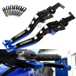 extendable lever yamaha 2019 - Motorcycle Accessories Brake Clutch Levers For YAMAHA FZ 6 FZ6 FAZER 2004-2010 Adjustable Folding Extendable CNC Brake L
