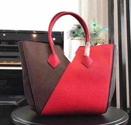 $enCountryForm.capitalKeyWord NZ - Fashion Quality Genuine Leather Handbag kimono bag handbag Women Tote Bag Hot Sell Newest Style Classic Fashion women Shoulder Bags M40460#