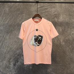 Wholesale roar clothing for sale – custom 2020 Brand New Summer Men Designer T Shirt Clothing Short Sleeve T Shirt Roar Orangutan Monkey Circle Star T Shirt Unisex Tee Cotton Tops